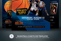 Basketball Camp Flyer Corporate Identity Template throughout Basketball Camp Certificate Template