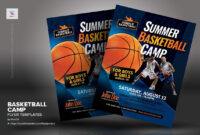 Basketball Camp Flyer Templates #inches#letter#placing for Basketball Camp Brochure Template