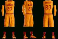 Basketball Uniform Photoshop Template Mockup | Basketball intended for Blank Basketball Uniform Template