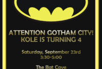 Batman Birthday Card Template – Google Search | Birthday throughout Batman Birthday Card Template