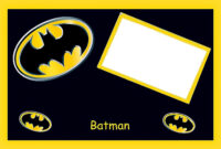 Batman Birthday: Free Printable Cards Or Invitations. – Oh intended for Batman Birthday Card Template