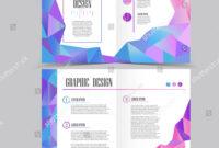 Beautiful Halffold Brochure Template Design Crystal Stock for Half Page Brochure Template