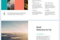 Beautiful Travel Guide Brochure Template – Flipsnack intended for Travel Guide Brochure Template