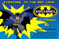 Best 2018! New Of Free Printable Batman Birthday Cards New inside Batman Birthday Card Template