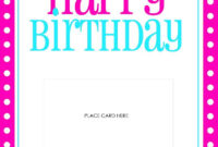 Best 22 Microsoft Word Birthday Card Templates – Birthday Pertaining To Birthday Card Template Microsoft Word