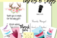 Best Baby Shower Thank You Card Wording Ideas + Free Printables pertaining to Template For Baby Shower Thank You Cards