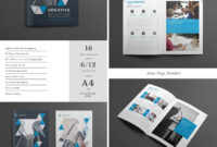 Best Design Brochure Templates For Creative Business Plan throughout Adobe Indesign Brochure Templates