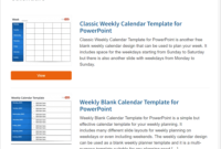 Best Free Powerpoint Calendar Templates On The Internet Throughout Microsoft Powerpoint Calendar Template