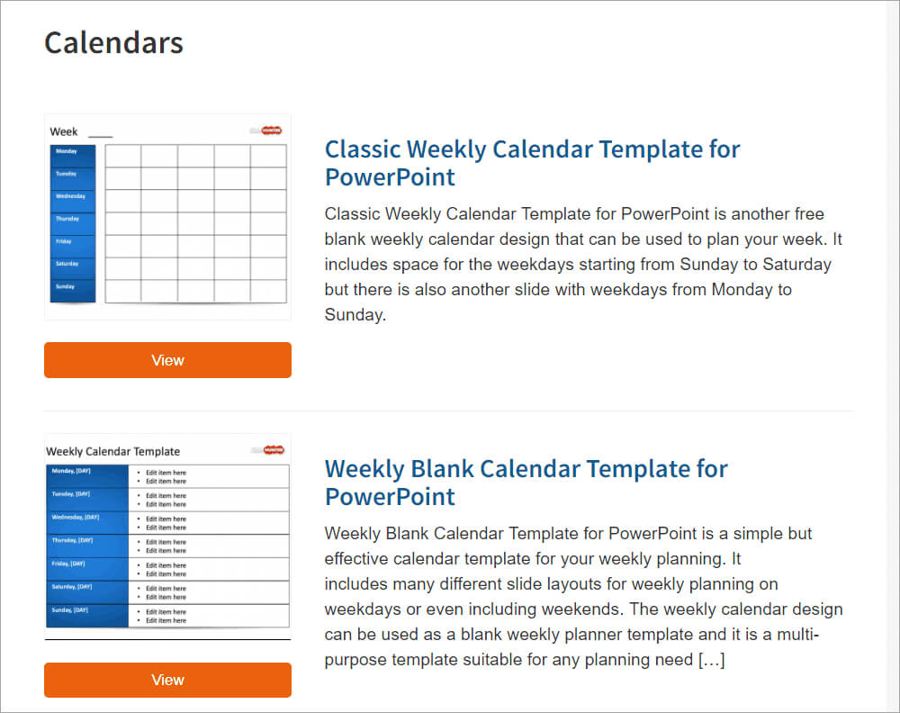 Best Free Powerpoint Calendar Templates On The Internet Throughout Microsoft Powerpoint Calendar Template