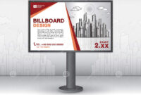 Billboard Banner Template Vector Design, Advertisement for Outdoor Banner Template