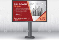 Billboard Banner Template Vector Design, Advertisement within Outdoor Banner Template