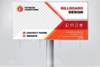 Billboard Design, Template Banner For Outdoor Advertising intended for Outdoor Banner Design Templates