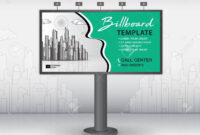 Billboard Design Vector, Banner Template, Advertisement, Realistic.. pertaining to Outdoor Banner Design Templates