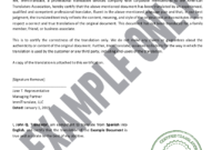 Birth Certificate Translations | Immitranslate in Uscis Birth Certificate Translation Template