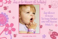 Birthday Invitation Card Design Free Download – Fieldstation throughout First Birthday Invitation Card Template