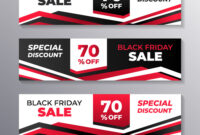 Black Friday Sale Web Banner Template Layout intended for Product Banner Template