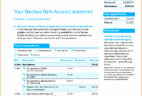 Blank Bank Statement Template Luxury Viewing Gallery For for Blank Bank Statement Template Download