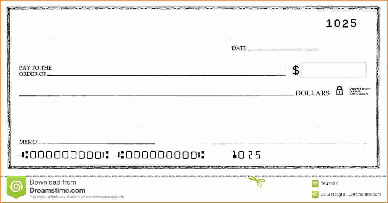 Blank Business Check Template | Business Checks, Word Check Within Editable Blank Check Template