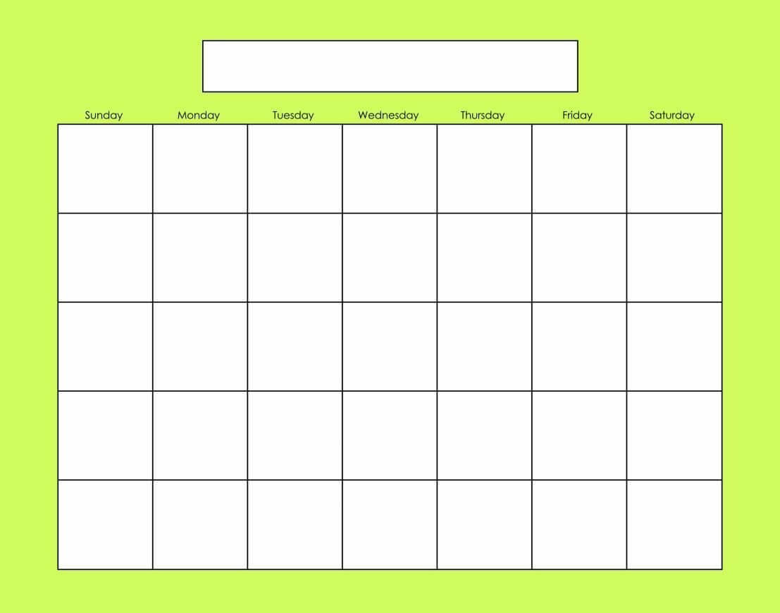 Blank Calendars Activity Calendars | Blank Calendar Pages Intended For Blank Activity Calendar Template