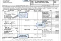 Blank Certificate Of Insurance On Certificate Of Insurance within Certificate Of Insurance Template