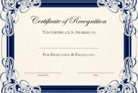 Blank Certificate Templates Free – Forza.mbiconsultingltd regarding Honor Roll Certificate Template