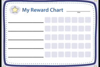 Blank Chart Reward | Templates At Allbusinesstemplates inside Blank Reward Chart Template
