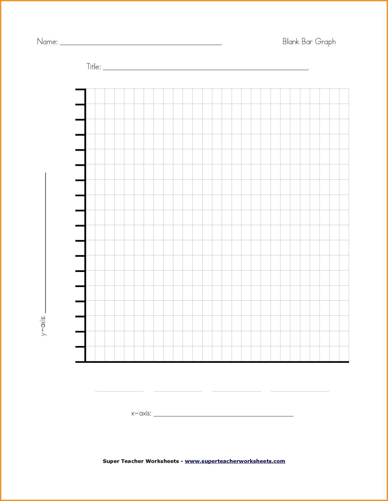 Blank Line Chart Template | Writings And Essays Corner | Bar Regarding Blank Picture Graph Template