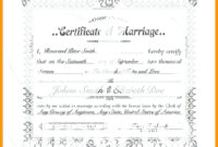 Blank Marriage Certificate Template – Uppage.co inside Certificate Of License Template