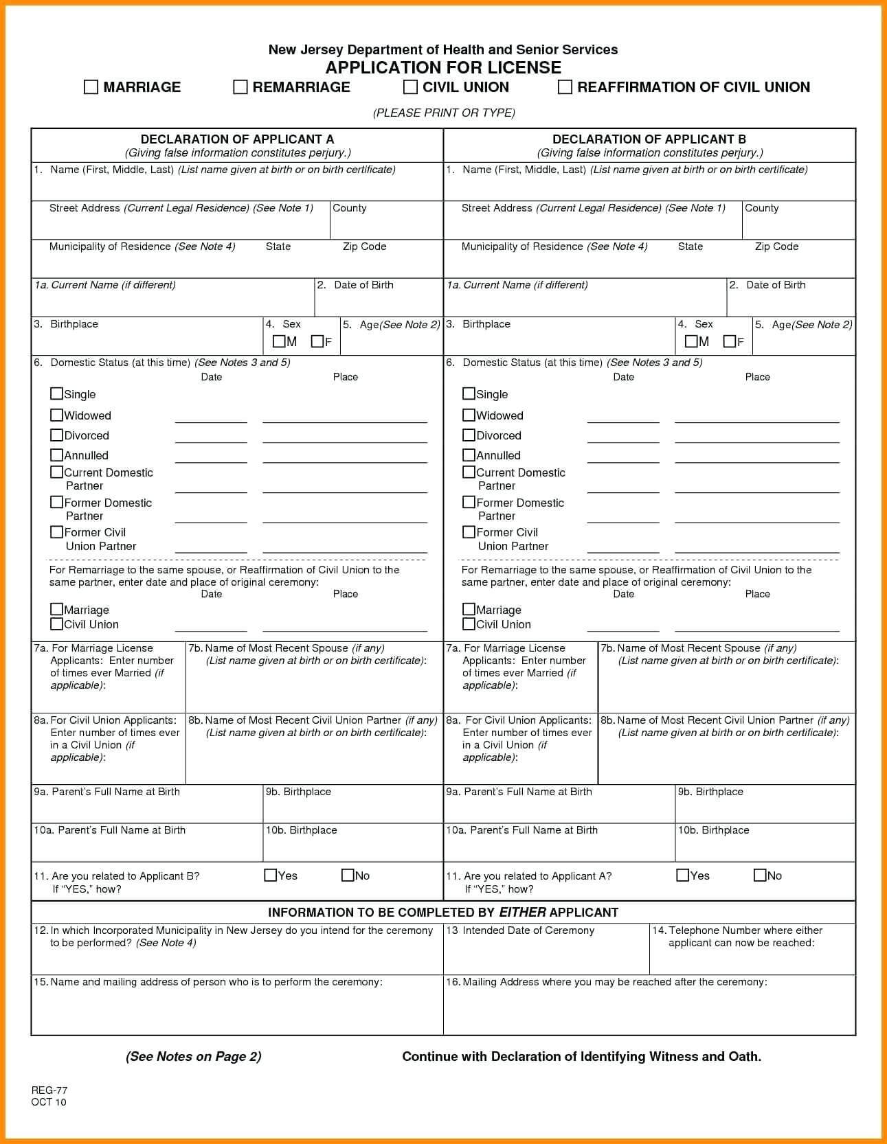 Blank Marriage Certificate Template – Uppage.co Pertaining To Fake Birth Certificate Template
