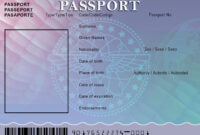 Blank Passport Template – Visit ( Buyonlinedocuments in Blank Drivers License Template