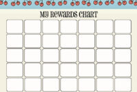 Blank Reward Chart Templates – User Guide Of Wiring Diagram in Blank Reward Chart Template