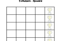 Blank Reward Chart Templates – User Guide Of Wiring Diagram pertaining to Blank Reward Chart Template