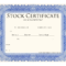 Blank Stock Certificate Template | Printable Stock In Stock Certificate Template Word