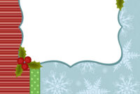 Blank Template For Christmas Greetings Card throughout Blank Christmas Card Templates Free