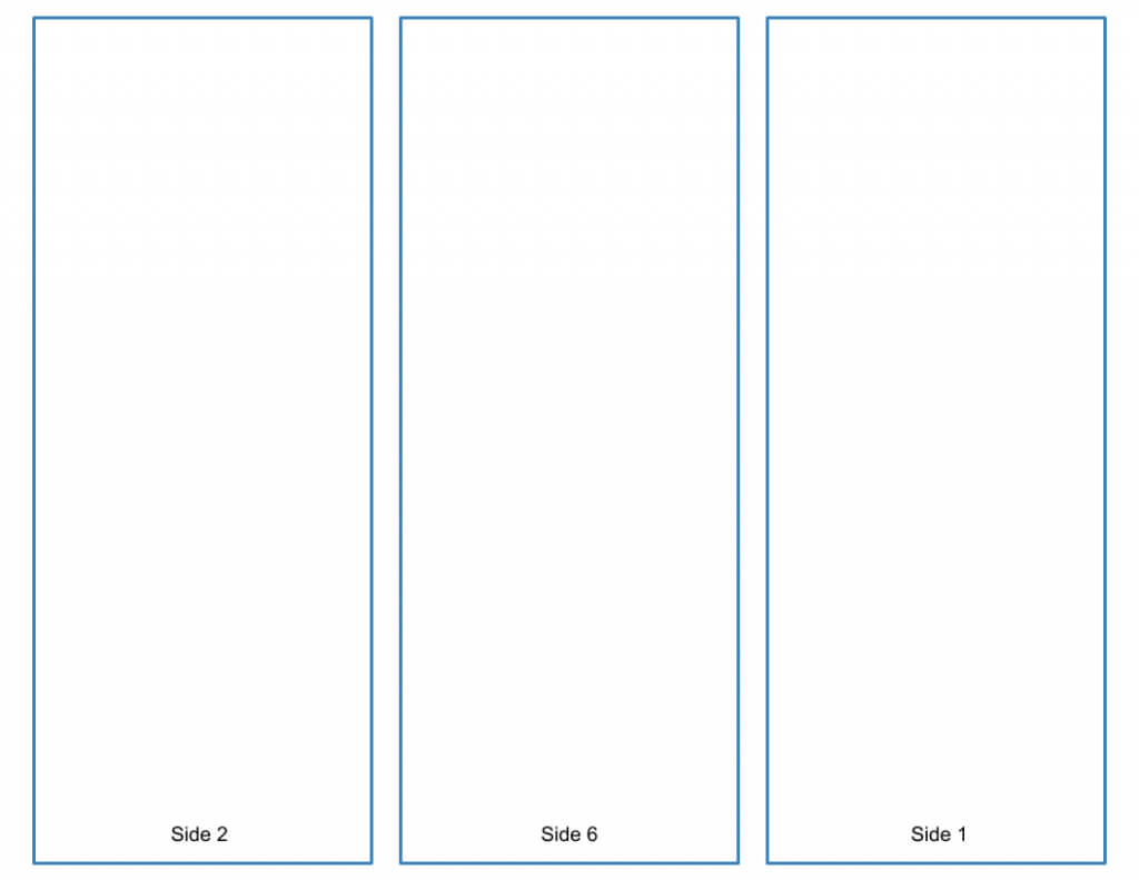 Blank Tri Fold Brochure Template - Google Slides Free Download Pertaining To Tri Fold Brochure Template Google Docs