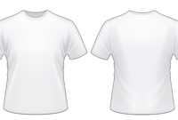 Blank Tshirt Template Worksheet In Png | T Shirt Png, T Regarding Blank T Shirt Design Template Psd