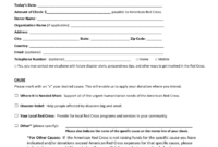 Blood Donation Form – 2 Free Templates In Pdf, Word, Excel for Donation Card Template Free