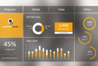 Blur Dashboard Slide For Powerpoint | Dashboard Template intended for Free Powerpoint Dashboard Template