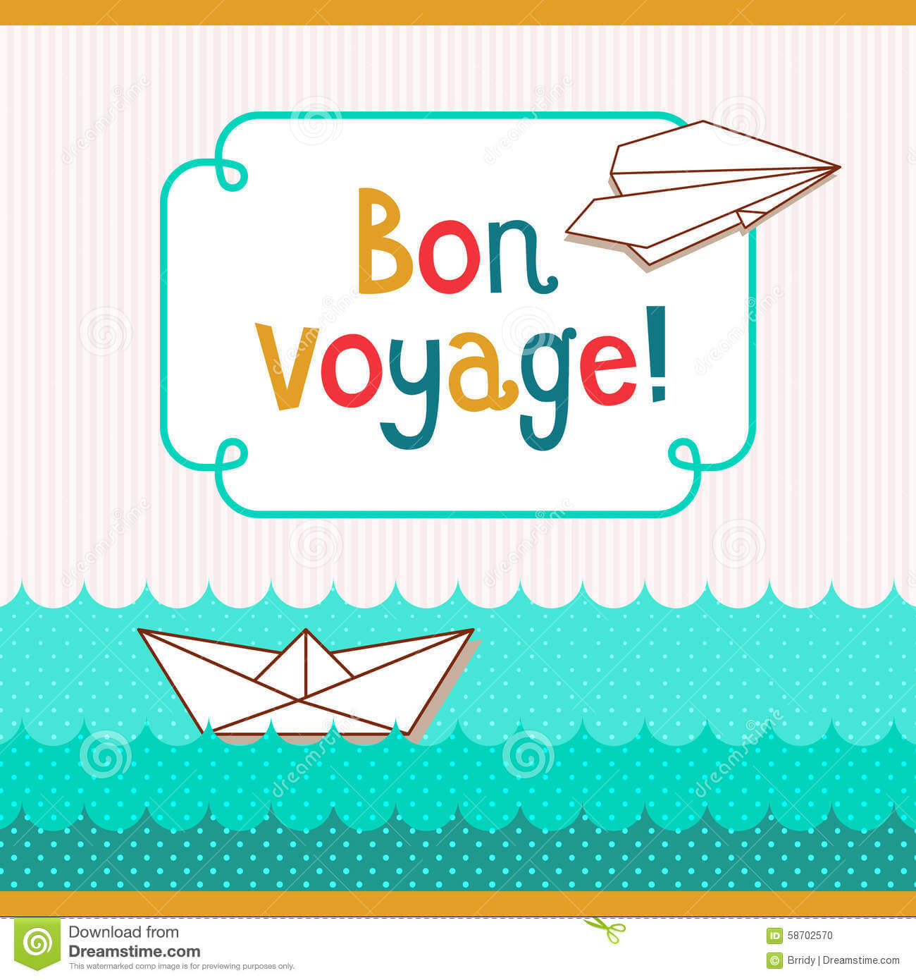 Bon Voyage Card Template ] - Bon Voyage Postcards Zazzle Com Inside Bon Voyage Card Template