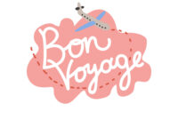Bon Voyage Have Nice Trip Banner Template inside Bon Voyage Card Template