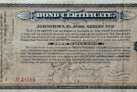 Bond Certificate Template ] – Corporate Bond Certificate pertaining to Corporate Bond Certificate Template