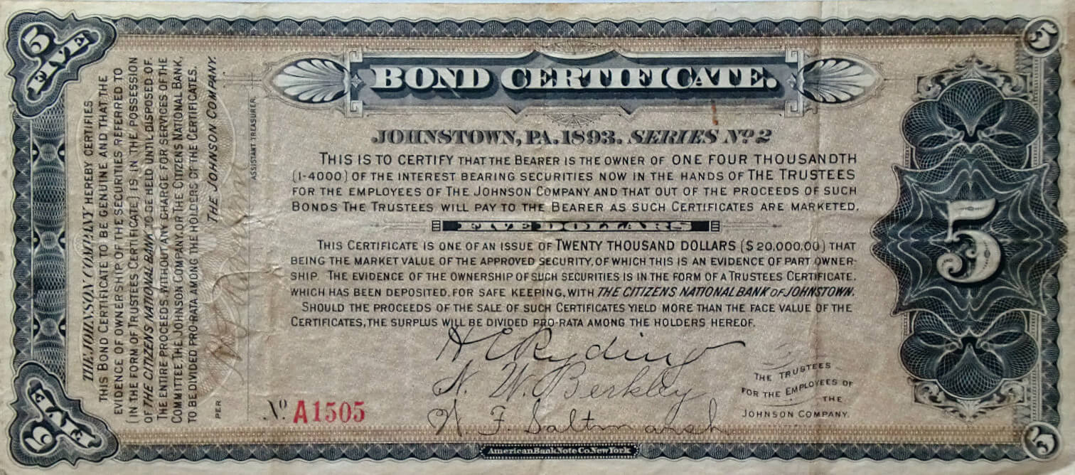 Bond Certificate Template ] - Corporate Bond Certificate Pertaining To Corporate Bond Certificate Template