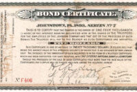Bonds Certificate | Certificate Templates, Corporate Bonds inside Corporate Bond Certificate Template