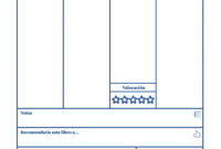Book Review – Printable (Spanish) intended for Book Report Template In Spanish