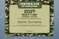 Boot Camp Certificate Template | Boot Camp Internship intended for Boot Camp Certificate Template