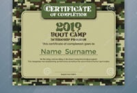 Boot Camp Internship Program Certificate Template Stock intended for Boot Camp Certificate Template