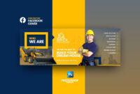 Brick – Construction Fb Cover | Facebook Cover Design, Fb throughout Photoshop Facebook Banner Template