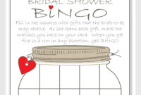 Bridal Shower Bingo Cards Free Printable And Available within Blank Bridal Shower Bingo Template