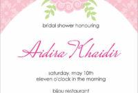 Bridal Shower Invitation Templates : Bridal Shower within Blank Bridal Shower Invitations Templates
