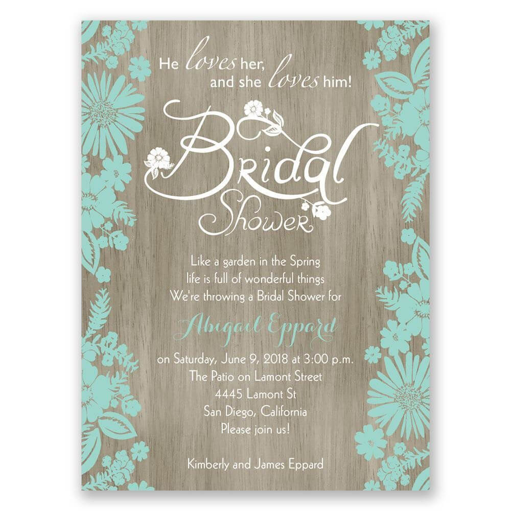 Bridal Shower Invitations Blank Templates | Cheap Bridal Throughout Blank Bridal Shower Invitations Templates